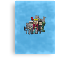 Fallen Kingdom Minecraft Canvas Print