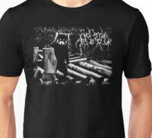 Black Metal Red Panda Unisex T-Shirt