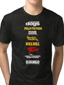 Quentin Tarantino Filmography Tri-blend T-Shirt