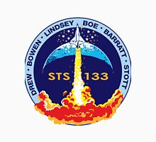 STS-133 Flight Crew Mission Patch Unisex T-Shirt