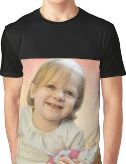 Ellie and her new baby doll Graphic T-Shirt