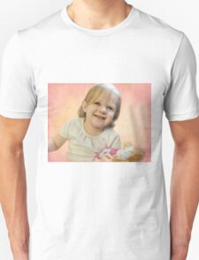 Ellie and her new baby doll Unisex T-Shirt