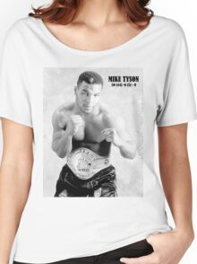 Mike Tyson Women's Relaxed Fit T-Shirt