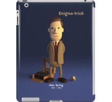 Alan Turing - Enigma-trick iPad Case/Skin