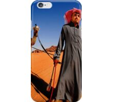 A Bedouin with his two camels.  iPhone Case/Skin