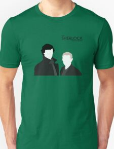 Sherlock Holmes & Dr. Watson - The SFO Unisex T-Shirt
