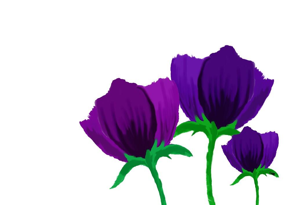 Purple Tulips by CharlieB636