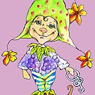 Little blackberry fairy by Renata Lombard