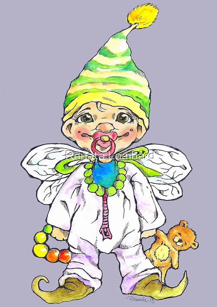 Baby elf by Renata Lombard