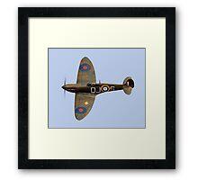 Spitfire Mk 1 R6596 QJ-S Framed Print