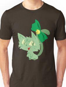 Green Kitty Unisex T-Shirt