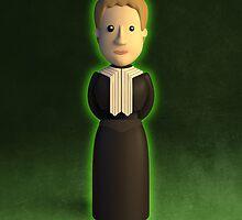 Marie Sklodowska-Curie - Curie-osity by chayground