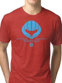 Fusion Suit Tee - Metroid Tri-blend T-Shirt