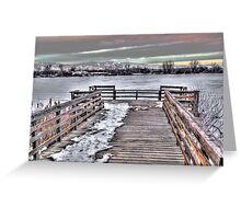 Gateway To Serenity Greeting Card