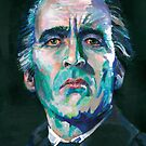 Dracula - Christopher Lee by Ashley Thorpe