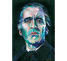 Dracula - Christopher Lee Photographic Print
