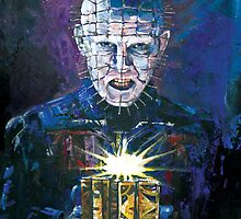 Pinhead - Hellraiser by Ashley Thorpe