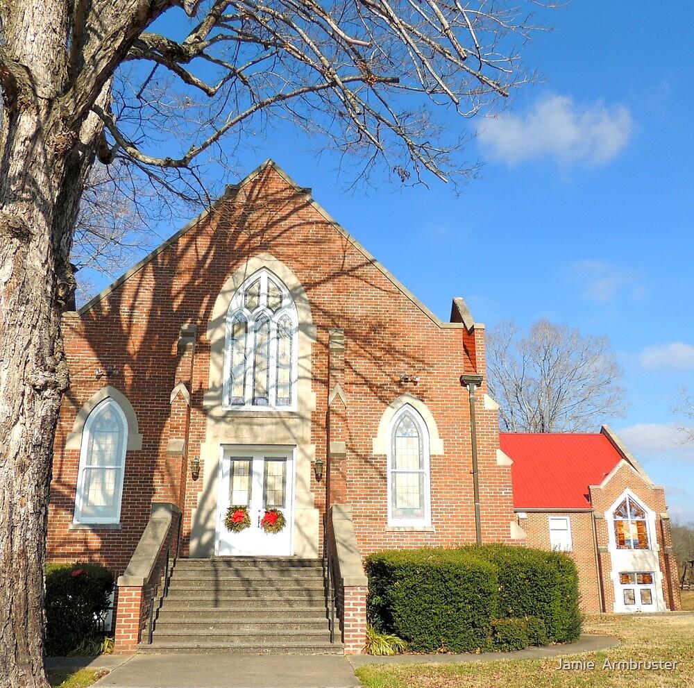 Historic Eusebia Presbyterian Church by Jamie  Armbruster