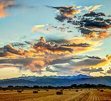 Sunset Madness Over The Colorado by Greg Summers