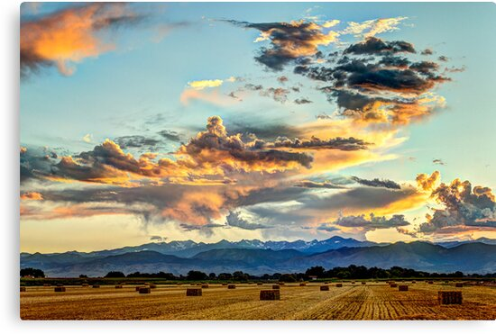 Sunset Madness Over The Colorado by nikongreg