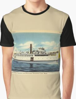 New Bedford Steamer Graphic T-Shirt