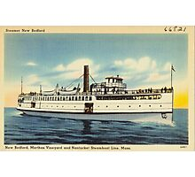 New Bedford Steamer Photographic Print