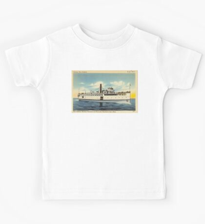 New Bedford Steamer Kids Tee