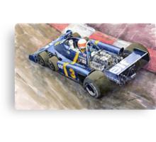 Tyrrell Ford Elf P34 F1 1976 Monaco GP Jody Scheckter Canvas Print