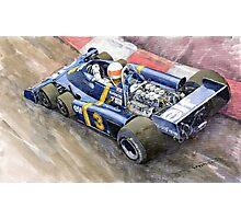 Tyrrell Ford Elf P34 F1 1976 Monaco GP Jody Scheckter Photographic Print