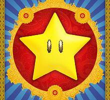 The Sacred Starman (Super Mario Bros) by enthousiasme