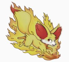 Fire Fennekin by Korikian