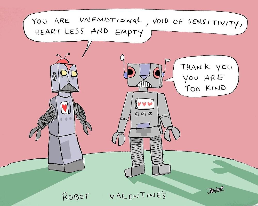 robotic valentine by Loui  Jover