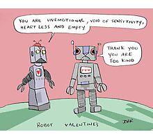 robotic valentine Photographic Print