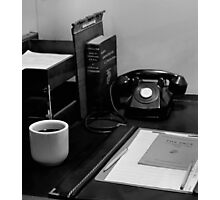 "Remember The ""Telephone""! Photographic Print"