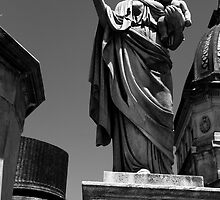 la recoleta cemetery 001 by Karl David Hill