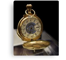 Pocket Watch For The Governor Canvas Print