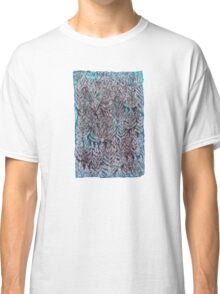 Snow Pines (Blue) Classic T-Shirt