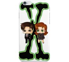 Chibi X Files iPhone Case/Skin