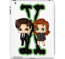 Chibi X Files iPad Case/Skin