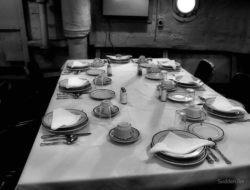 Officer's Mess by SuddenJim