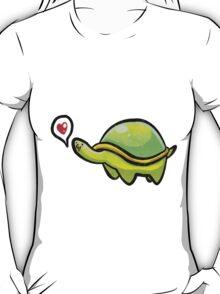 Green Love Turtle T-Shirt