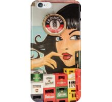 Beer and pinup iPhone Case/Skin