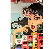 Beer and pinup Photographic Print