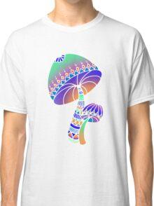 Shroom Inverted - blue/orange/green/purple Classic T-Shirt