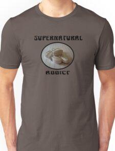 Supernatural Addict (Black Letters) Unisex T-Shirt