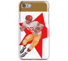 Retro Football Player   iPhone Case/Skin