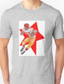 Retro Football Player   Unisex T-Shirt