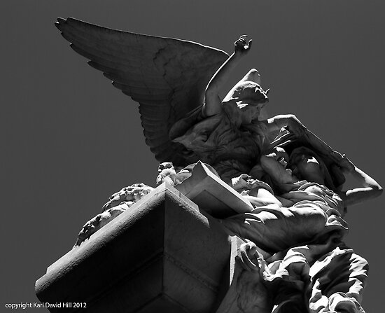la recoleta cemetery 009 by Karl David Hill