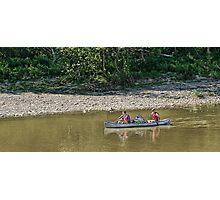 Canoe   Photographic Print