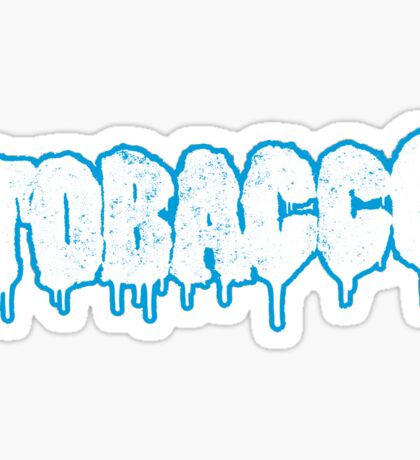 TOBACCO LOGO IN BLUE Sticker